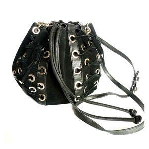 Zara drawstring purse